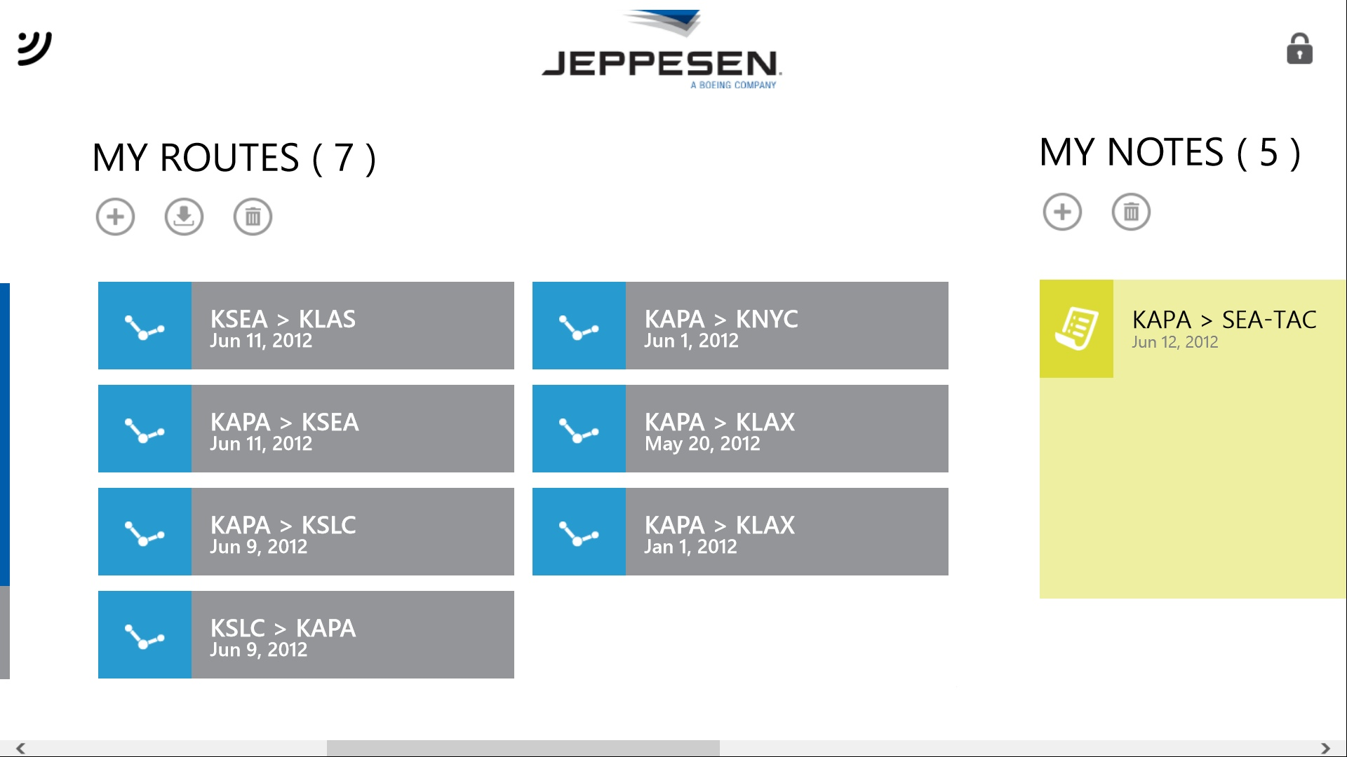 Jeppesen Flite Deck Pro Windows 7 Routes