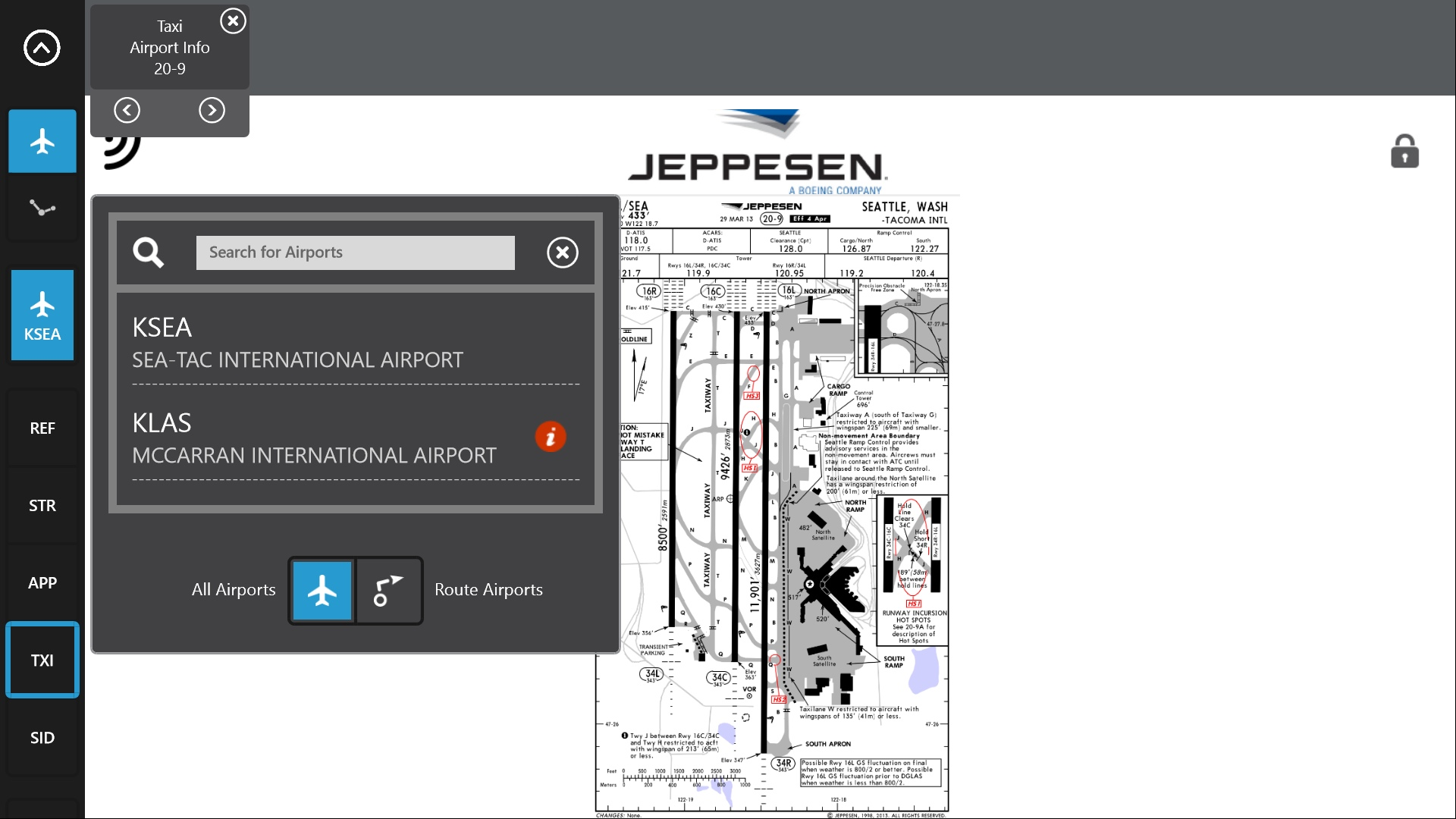 Jeppesen Flite Deck Pro Windows 8 search